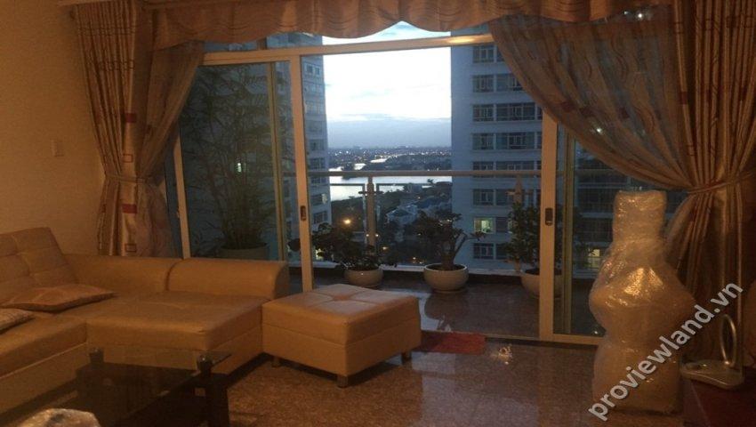 Cho thuê căn hộ hoàng anh riverview 170m2 4 phòng ngủ
