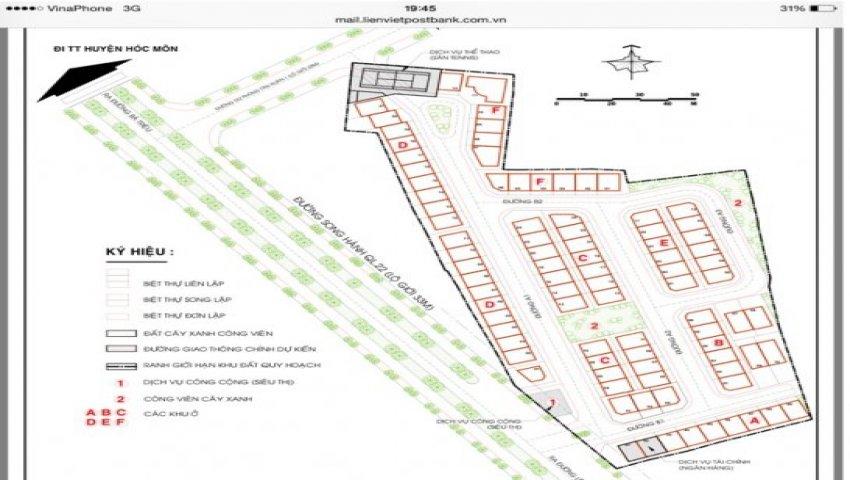 đất nền dự án khu biệt thự tân xuân,hóc môn,lh pkd cđt:0909.10.40.39