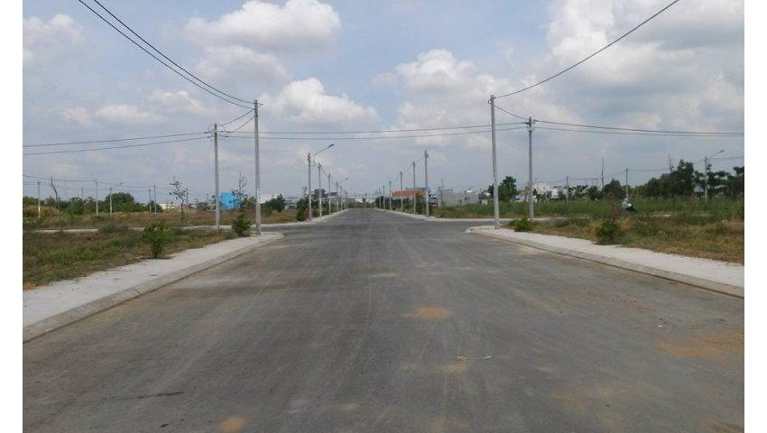 đất mặt tiền quốc lộ 50, 400tr/90m2, sổ riêng chính chủ