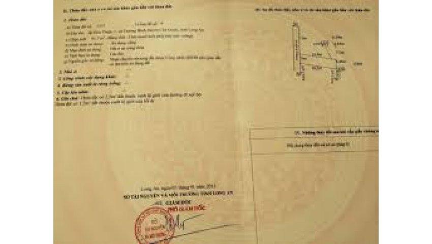 Bán đất quốc lộ 50 xã tân kim, cần giuộc, giá 270tr/80m2