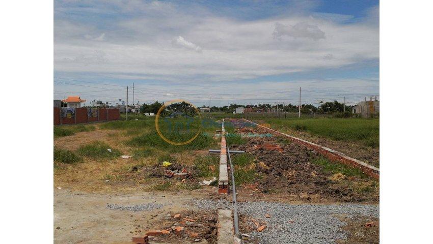 đất dự án, ngay ngã 3 tân kim -  cần giuộc, trên đường quốc lộ 50, sổ hồng giá 270tr trên 84m2