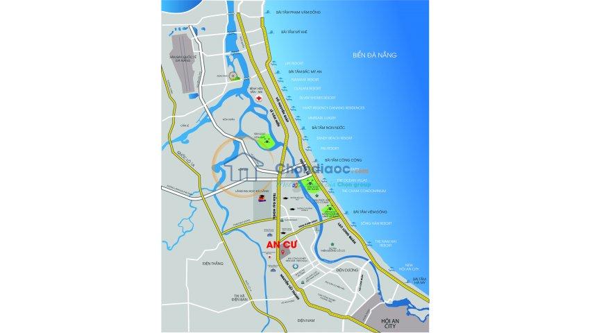 Dự án nằm ngay trục đường 48m trần đại nghĩa phường điện ngọc chỉ 230tr/nền