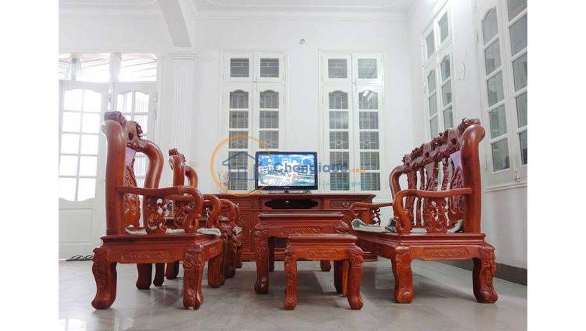 Cho thuê nhà 4 tầng, dt 112m2, 4pn, giá 12 triệu tại lâm du, bồ đề, long biên, hà nội
