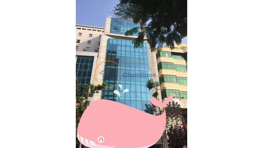 Chinh chủ cho thuê tòa nhà 11 tầng láng hạ làm văn phòng, vị trí đắc địa.  giá $18/m2/th