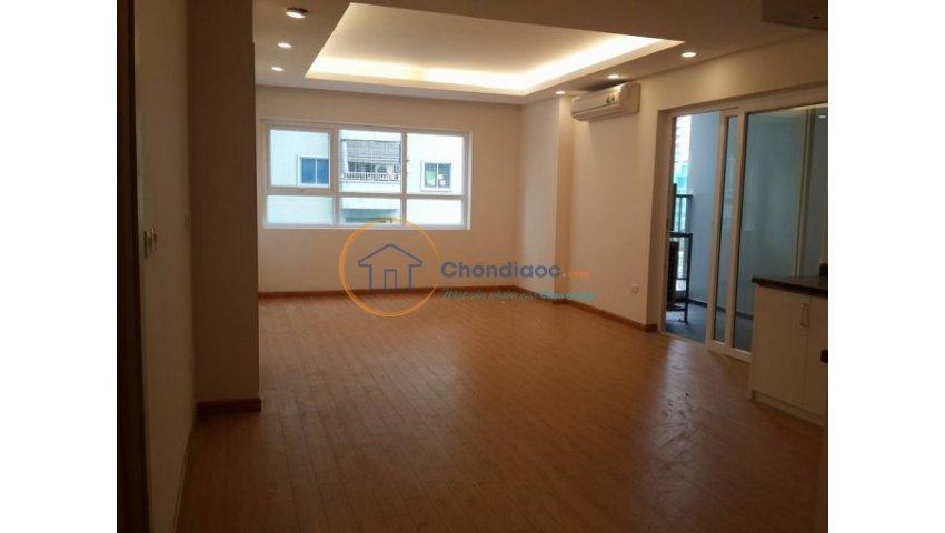 Cho thuê căn hộ tại ct1 vimeco- nguyễn chánh. s=145m2. 3 pn, 2 wc. gía 13,5 tr/th.