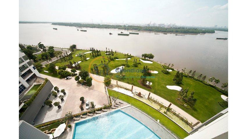 Cần bán căn hộ Đảo Kim Cương 167 m2, view sông, tầng 6, 9 tỷ
