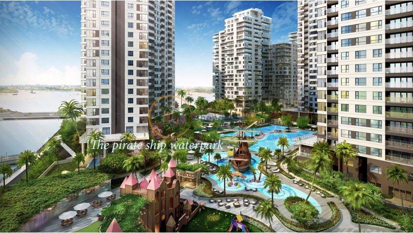 Chính chủ bán căn Đảo Kim Cương 117 m2, view sông và Quận 1, tầng 10, 6,1 tỷ, LH 0938986358