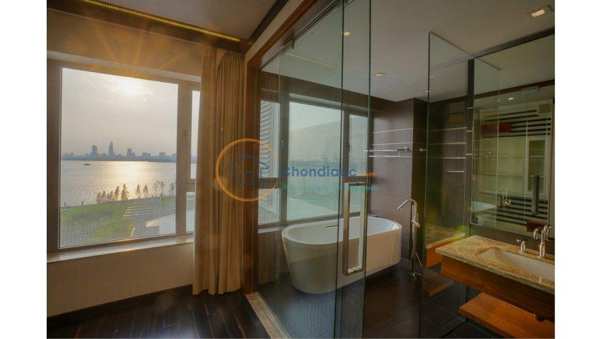 Bán lỗ căn hộ diamond island tháp brilliant, 109 m2, tầng 6, view hồ bơi