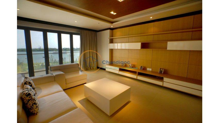 Căn hộ Đảo Kim Cương 4 phòng ngủ, căn góc 3 view sông, có sân vườn, nhiều diện tích 167-363 m2