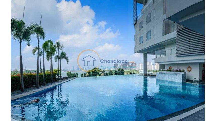 Bán căn Đảo Kim Cương 3 phòng ngủ Maldives, 117m2, tầng 6, view sông