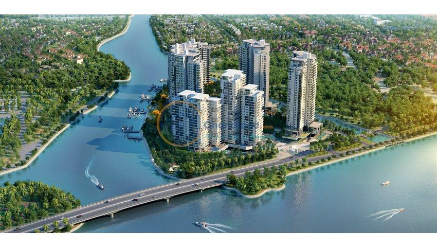 Cần bán căn hộ đảo kim cương, brilliant, 82 m2, tầng 6, view sông và quận 1, lh 0938 986 358