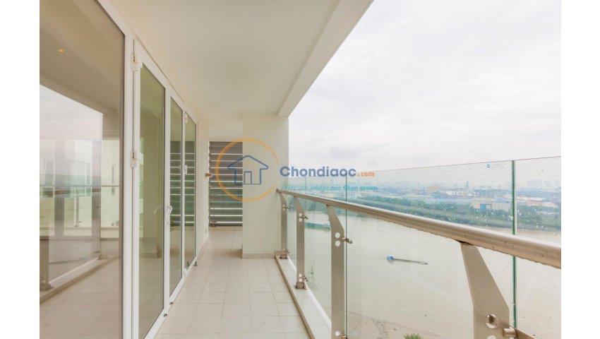Bán căn hộ Brilliant Đảo Kim Cương 3PN ở liền, 180m2, view sông