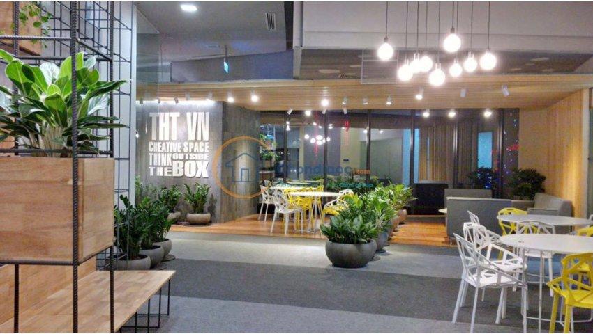 Cho thuê văn phòng trọn gói hạng A Charmvit 117 Trần Duy Hưng Cầu giấy 10m2 đến 55m2