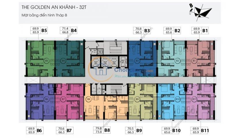 Bán chung cư golden an khánh 32 t, t 1511-b: 65,9m2 và1603-c:92,2m2, giá 13 tr/m2. lh: 0965 490 578