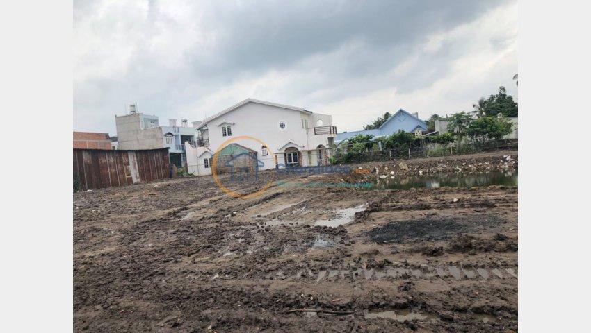 Bán đất mặt sông đường Hà Huy Giáp , Phường Thạnh Xuân, Q12. TP HCM