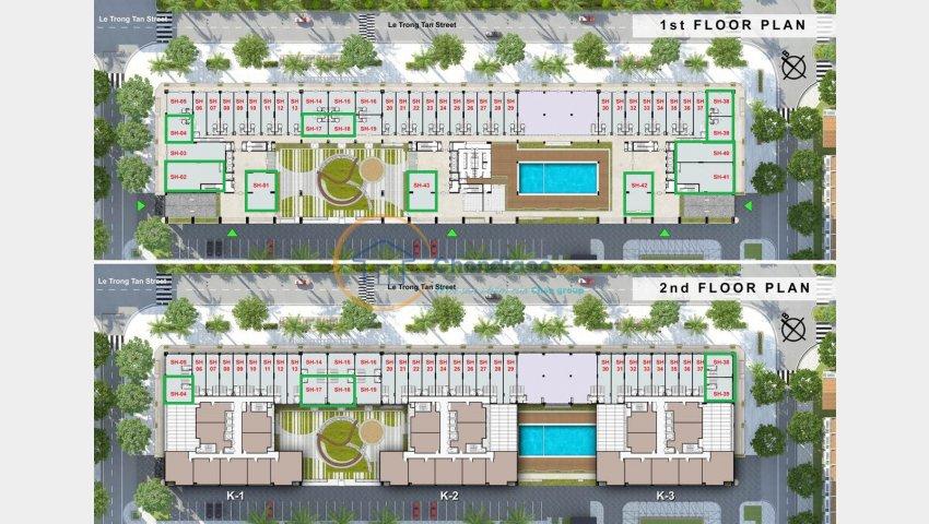 Kiốt thương mại dự án The K-Park thuận tiện kinh doanh giá chỉ từ 6 tỷ - 0944.111.223