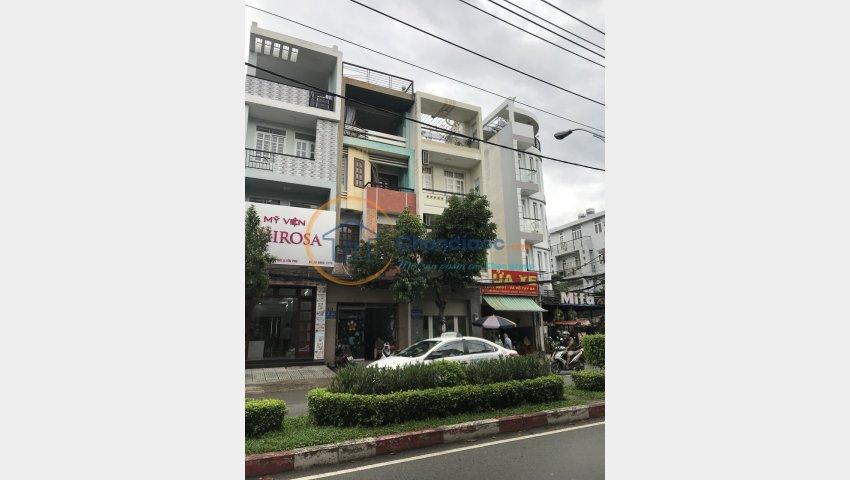 Bán Nhà MTKD Nguyễn Cửu Đàm,Tân Sơn Nhì,Tân Phú dt 4x18, giá 12 tỷ