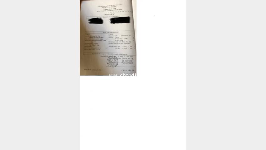 Chính chủ bán nhà số 603 hoàng văn thụ, p.4, q.tân bình, shr, hiện đang cho ngân hàng thuê