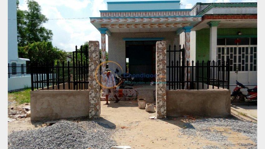 Bán nhà B33 ấp 2 Hưng Long Bình Chánh