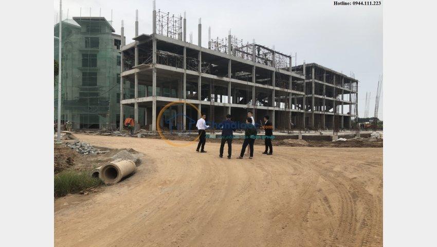 Bán căn Shophouse suất ngoại giao view hồ rất đẹp dự án Khai Sơn City Long Biên - 0944.111.223