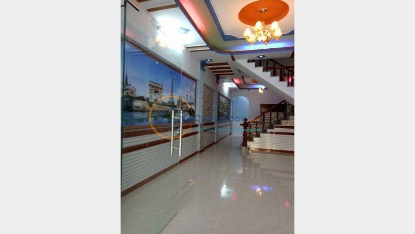 bán nhà bệnh viện quân 12 Dương thị mười DTSD 90m2 2 lầu 3pn 1ty650tr