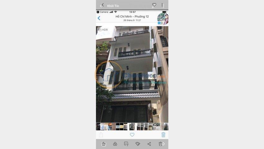 Bán gấp nhà HXH Cô Giang, P2, Phú Nhuận, dt 38m2, 2 lầu giá 6ty8 TL