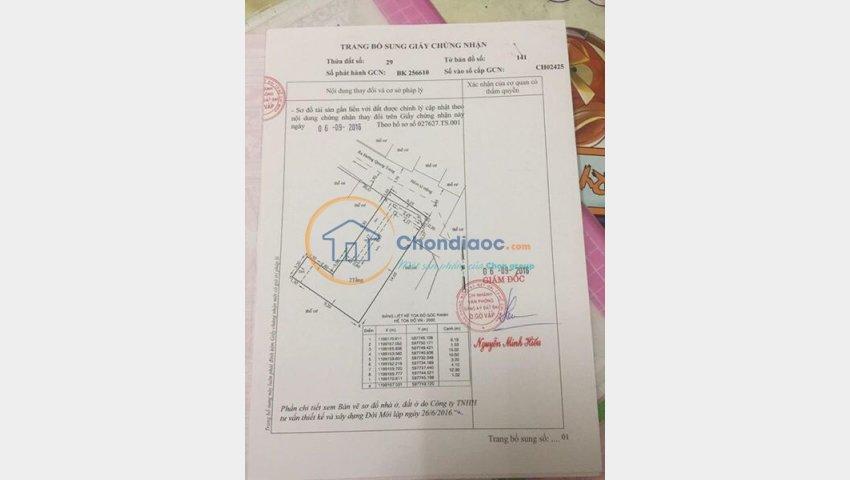 Nhà bán hẻm 1074 Quang Trung, Phường 8 Gò Vấp