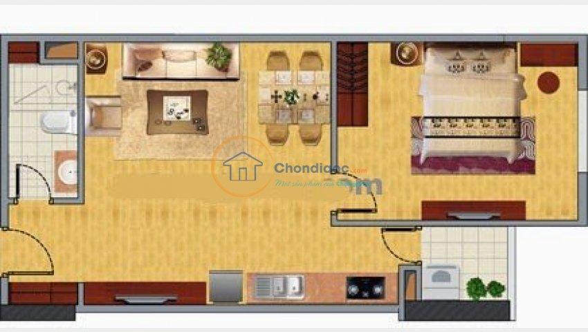 Tôi cần bán nhanh căn hộ chung cư Nghĩa đô, 45m2, tầng trung.