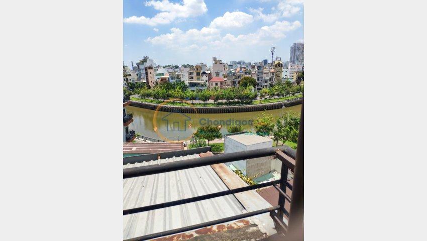 Nhà Lý Chính Thắng,phường 7,quận 3,65 m2,4 lầu,7.5 tỷ.