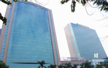 Km sốc,ưu đãi cực lớn, giảm 20% giá thuê văn phòng cao cấp hạng a tòa nhà grand plaza