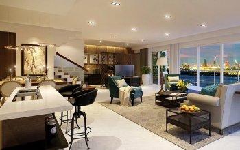 Biệt thự Quận 2, pool villa mặt tiền sông Sài Gòn, 776 m2, 28 tỷ