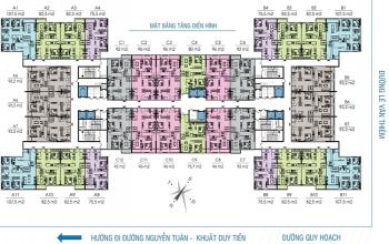 Cc cần bán gấp ch 16 b8 – tòa b – cc golden west–lê văn thiêm, dt: 75,5m2. giá 26 tr/m2– 0965490578