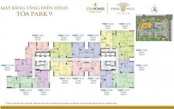 Gấp!!tôi chủ căn hộ 20-01 cc park hill cần bán gấp. dt: 75,8m2(park 9). giá 2,5  tỷ (0965 490 578)