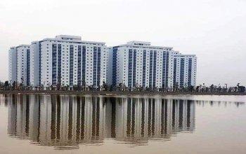 Chính chủ bán căn chung cư b2.1, tòa hh03 - 3b, căn góc nhìn hồ, tầng 12.