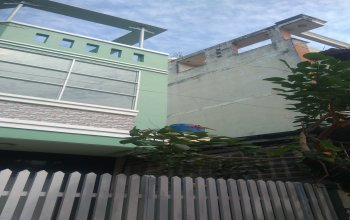 Bán nhà hẻm 8m đường vườn lài,diện tích 5x20m
