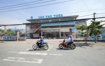 Bán đất chợ Thủ Thừa, 5x25m, gần chợ,sổ hồng riêng đi công chứng liền