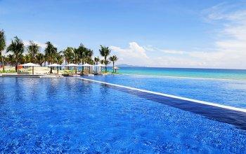 Biệt thự biển cam ranh mystery villas ngay gần sân bay quốc tế cam ranh,giá chỉ 9 tỷ,ck 3%+16%.