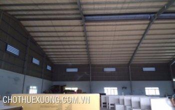 Cho thuê nhà xưởng tại Hưng Yên gần mặt đường QL38 giá tốt