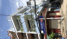 Nhà góc cư xá Bình Thới 60m2 mặt tiền Đông Nam