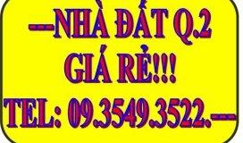 Cho thuê nhà mặt tiền Trần Não, phường Bình An, quận 2