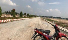 Bán đất chợ Đại Phước, MT Tĩnh Lộ 769, Cách Cát Lái 2km,sổ hồng riêng, Giá 980tr