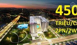 Chỉ 450 tr sở hữu căn 65 m2: 2pn/ 2wc sắp giao nhà - tân bình - trường chinh + 1 năm phí ql, 1 tivi