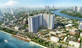Bán căn hộ cao cấp Charmington Iris quận 4, giá 3,7 tỷ , 2PN , 2WC , 72m2 , sổ hồng vĩnh viễn