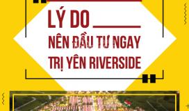 06 lý do nên đầu tư ngay dự án trị yên riverside