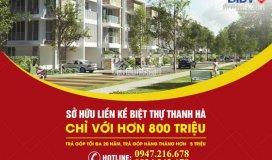 Bán đất nền dự án thanh hà, giá trực tiếp từ chủ đầu tư, 15tr/m2