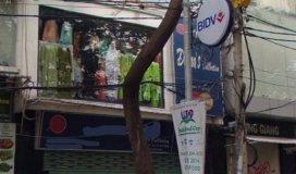 Cho thuê nhà MT Lương Hữu Khánh Q1,DT: 8mx20m,Giá: 90 Triệu