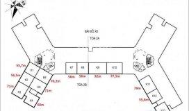 Mở bán kiot k8 tòa oxh2, cửa đông nam, 56m2, 18.75tr/m2, mặt tiền 6m, liên hệ