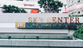 Ngay bây giờ: căn hộ skycenter 5b phổ quang, tiện ích 5*, giá thuê bình dân mr.thế anh: