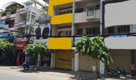 Cho thuê nhà MT Nguyễn Đình Chiểu Q3,DT: 4.6mx18m,5 Lầu 7 phòng, 95 Tr