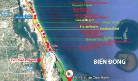 Chuẩn bị công bố suất nội bộ siêu dự án tại Bãi Dài Cam Ranh.LH:0909160018